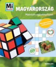 Magyarország - Matricás rejtvényfüzet