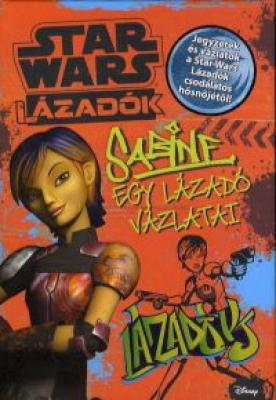 Star Wars Lázadók - Sabine, egy lázadó vázlatai