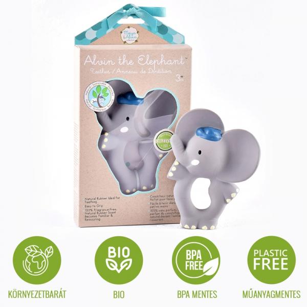 Alvin elefánt rágóka
