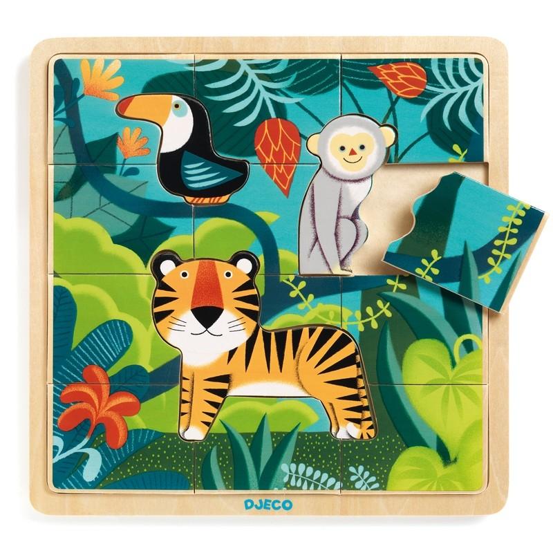 Képkirakó Puzzle - Dzsungel