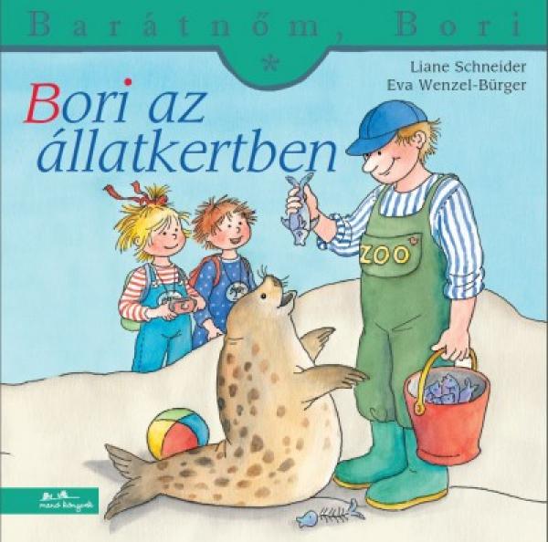 Bori az állatkertben - Barátnőm, Bori füzetek 34.