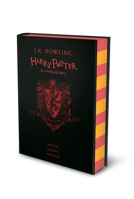 Harry Potter és a bölcsek köve - Griffendéles kiadás