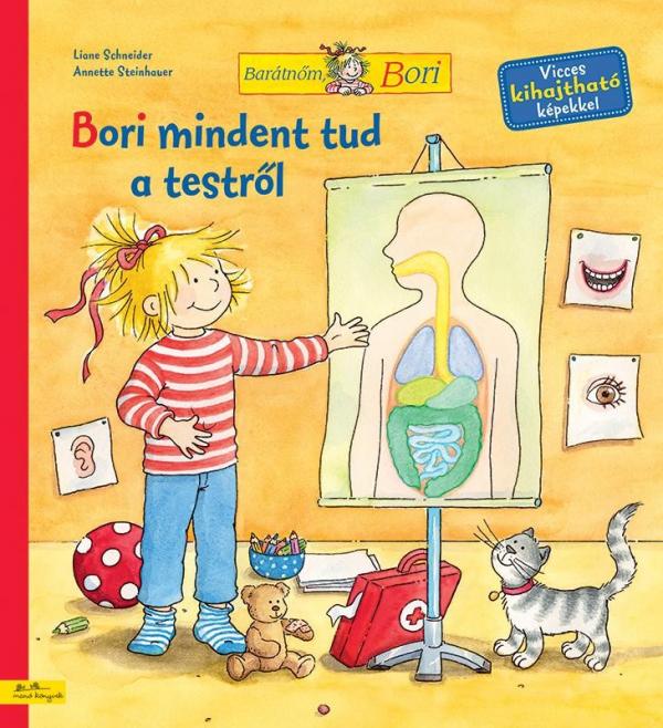Bori mindent tud a testről - Barátnőm, Bori