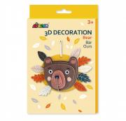 3D dekorációs puzzle - Maci