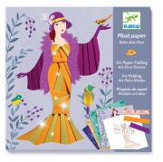Írisz papírhajtogatás - Art deco ruhák