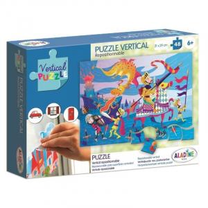 Vertikális Puzzle - Sárkány