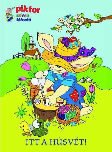 Itt a húsvét! - Piktor színes kifestő