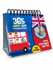 Agymenők - Képes szótanuló naptár - 365 angol szó példamondatokkal 7-9 éveseknek