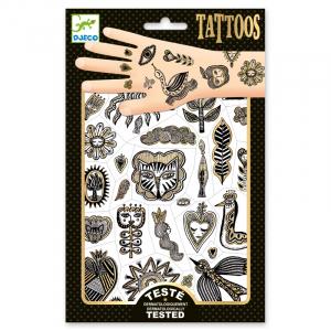 Tetoválás – Golden chic