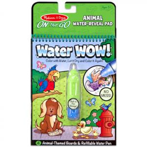 Rajzolás vízzel - Állatok