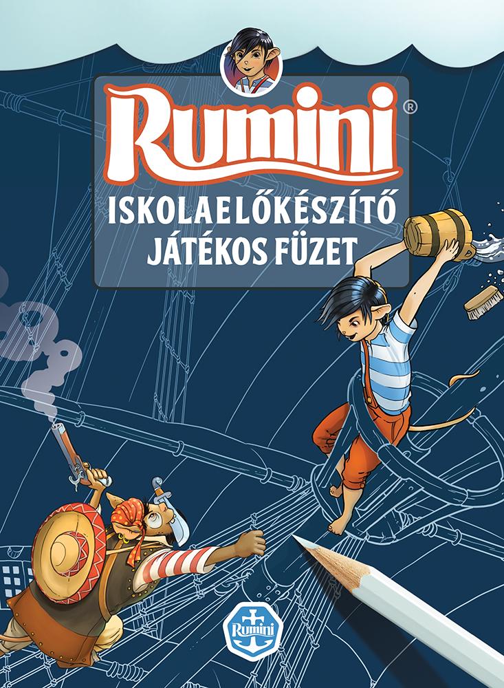 Rumini - játékos iskolaelőkészítő füzet