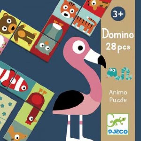 Domino - Állatos puzzle