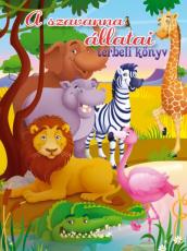 A szavanna állatai - Térbeli könyv