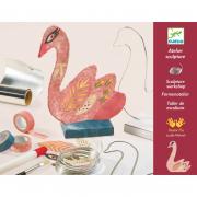 Szobrász műhely - Hattyú - The swan