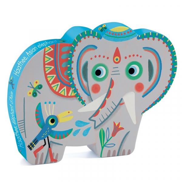 Formadobozos Puzzle - Ázsiai elefánt