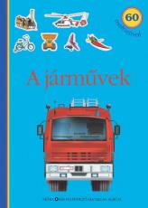 A járművek - matricás foglalkoztatókönyv