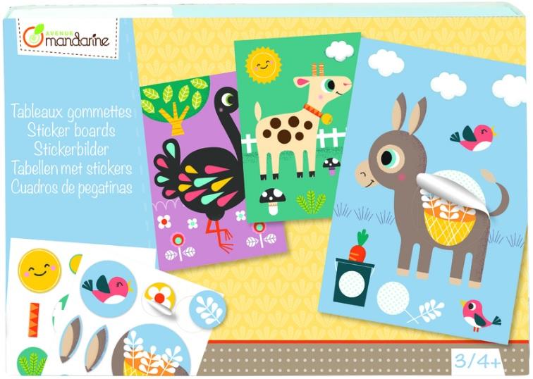 Kreatív készlet kicsiknek - Matricák