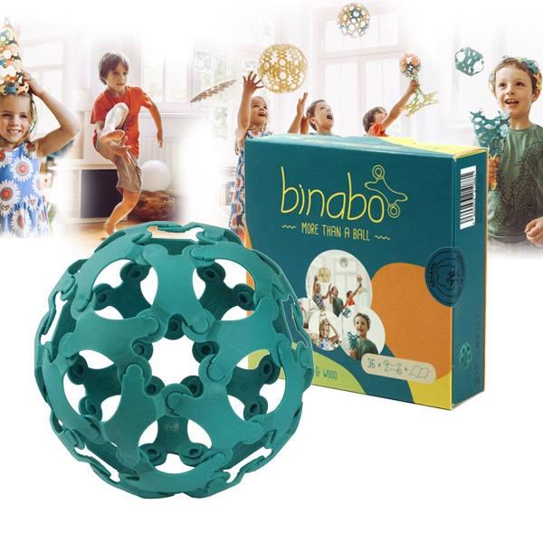 Binabo építőjáték - 36db-os készlet- kék
