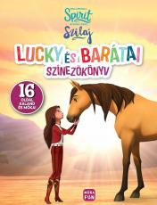 Szilaj - Lucky és barátai - színezőkönyv