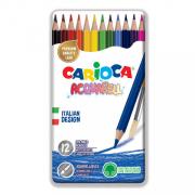 Carioca - Akvarell színesceruza készlet, 12db-os