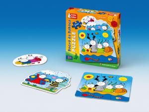 Bogyó és Babóca - Baba puzzle