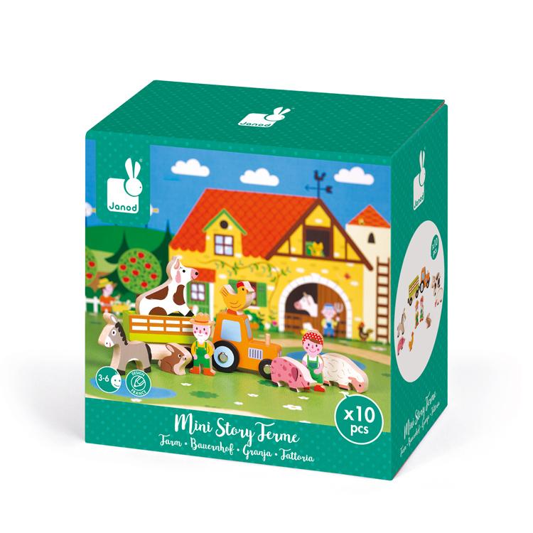 Mini sztori - farm figurák