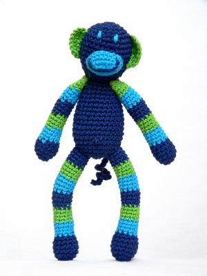 Horgolt majom - fiú