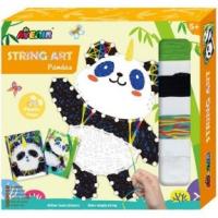 Varróműhely Fonalkép készítés  Panda