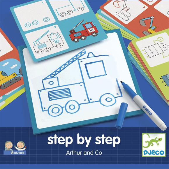 Rajzolás lépésről lépésre - Járművek