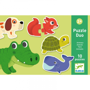 Párosító puzzle – Állatok