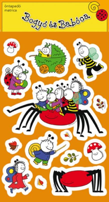 Bogyó és Babóca matrica - A barlangi pók