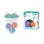Érzékelő labdák hálóval - fürdőjáték