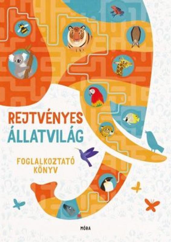 Rejtvényes állatvilág - foglalkoztató könyv