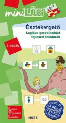 Észtekergető - Logikus gondolkodást fejlesztő feladatok 2. osztály - LDI554 - miniLÜK