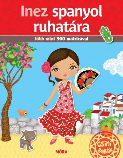 Inez spanyol ruhatára - Több mint 300 matricával