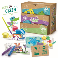 Super green - 3 az 1-ben kreatív készlet
