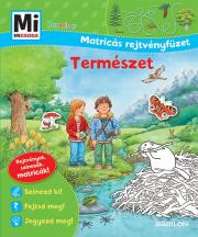 Mi Micsoda Junior Matricás Rejtvényfüzet - Mi MICSODA Matricás rejtvényfüzet - A természet