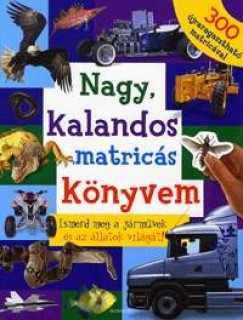 Nagy, kalandos matricás könyvem