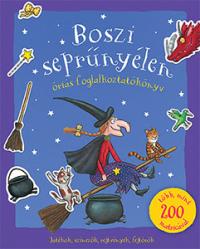 Boszi seprűnyélen - Óriás foglalkoztatókönyv