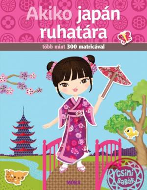 Akiko japán ruhatára - Több mint 300 matricával