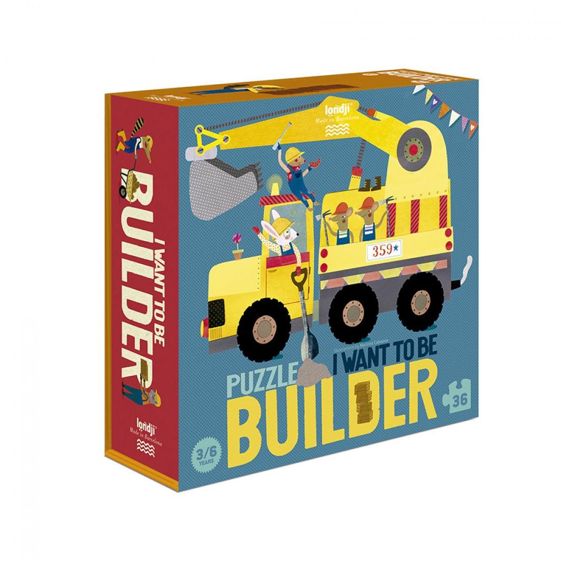Puzzle - Építkezésen dolgozom!