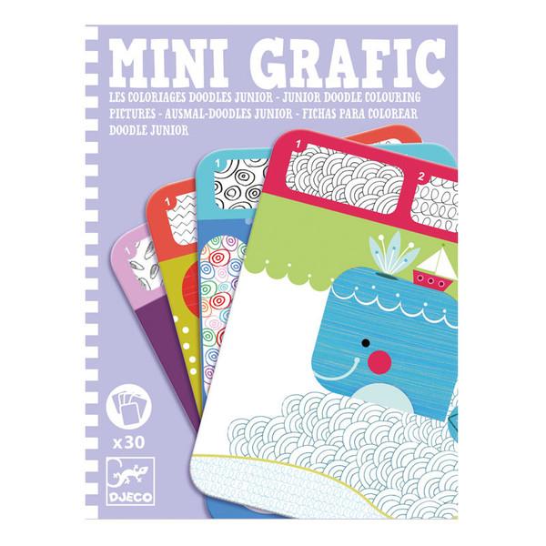 Mini grafic - Kriksz-Kraksz színező kicsiknek