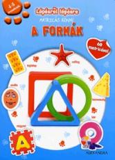 Lépésről lépésre matricás könyv - A formák
