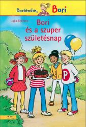 Bori és a szuper születésnap - Barátnőm, Bori regények