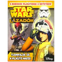 Star Wars - Lázadók foglalkoztató sötétben világító maszkkal