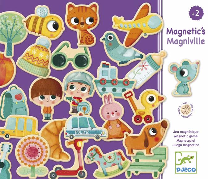 Mágneses formaberakó - Magniville
