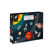 Oktató puzzle - A Naprendszer, 100db