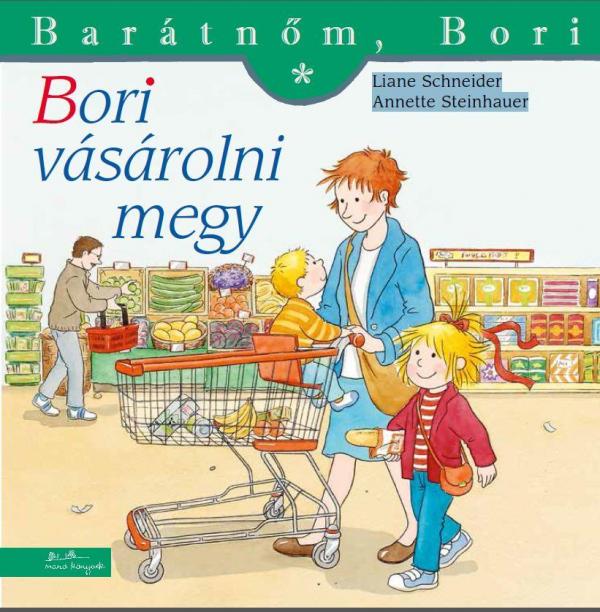 Bori vásárolni megy - Barátnőm, Bori füzetek