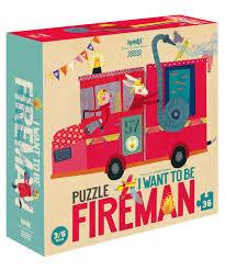 Puzzle - Tűzoltó leszek!