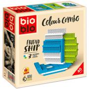 Bioblo építőjáték 40db-os  - Friend Ship